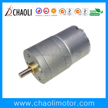 5rpm Gear Motor CL-G25-RF300 With 25mm Reduction Gear Box For Rotisserie And Coffee Grinder