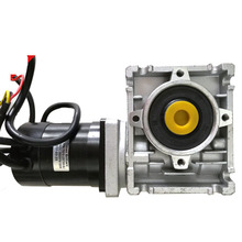 24v 60w to 210w brushless worm gear dc motor electric dc motor with worm gearbox RV30 <strong>10</strong>:1 ratio