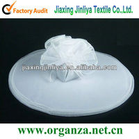 white organza circle for candy