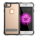 GS Phone Case For Iphone 6 plus Transparent Case Cover UV Paint Metal Holder