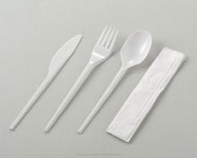 Hot selling Plastic PS Cutlery Set Light Weight Knife Fork Spoon