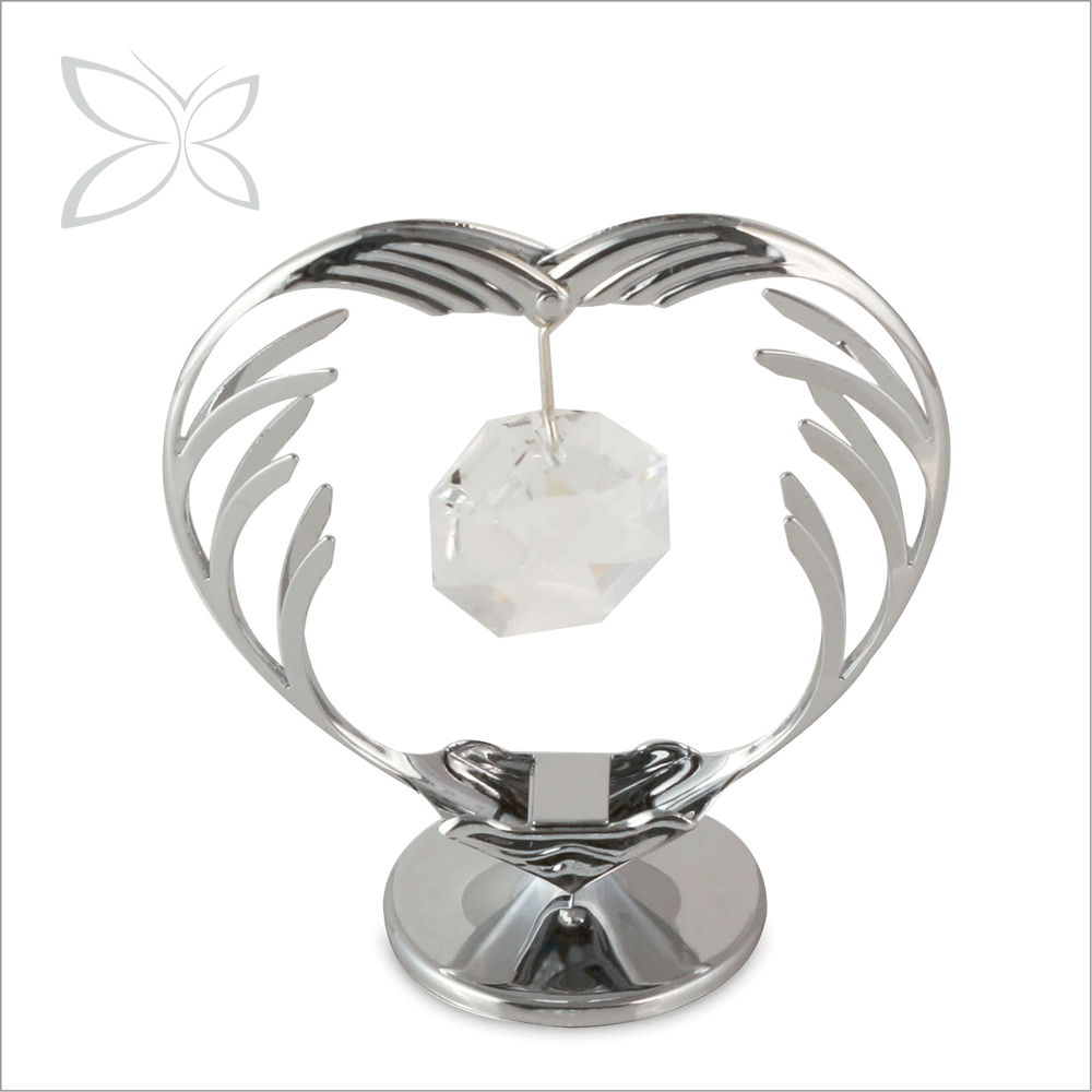 Splendid Brilliant Chrome Plated Crystals Wedding Souvenirs