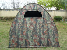 Fiberglass Pole Material and 1 - 2 Person Tent Type camo hunting blind tent
