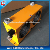 hot sale aluminum plate bar hydraulic fan oil cooler for excavator