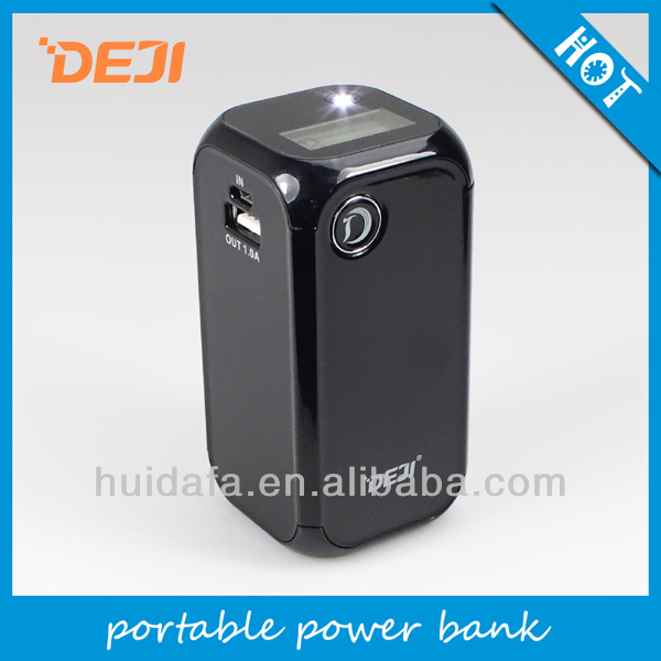 NEW 12000mAh power bank! 5v ac power charger adpater for sony psp with digital screen