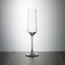 cheap stock flute glass stocked champagne glass Handmade Glassware Manufacturer fine crystal wine glasses wholesale STH005-5T