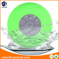 Unique Design Water Resistant Mini Bluetooth Speaker with Suction Cup