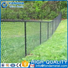 High Quality custom Cheap Prices 9 Gauge Pvc Coated Chain Link Wire Mesh Fence