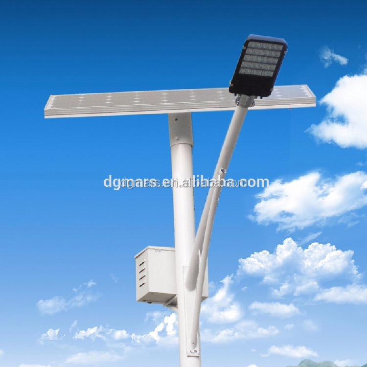 30W Solar LED Street Light Solar With GEL Battery / solar panel to power led lights