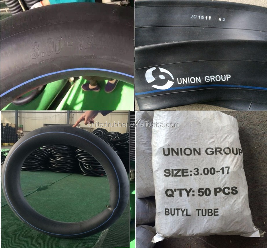 Natural Rubber Motorcycle Inner Tube, 2.50-18 butyl Inner Tube for Motorcycle