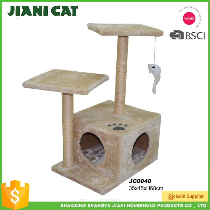 wholesale on alibaba wooden material pet toy of cat furniture