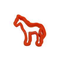 ZY-G2005 Wholesale Plastic Cookie Cutter 6pcs Animal Shape Cookie Cutter