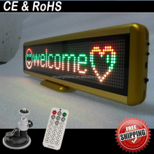 P6 advertising rgb led matrix 12 inch 7 segement display/led countdown clock/led electronic billboards