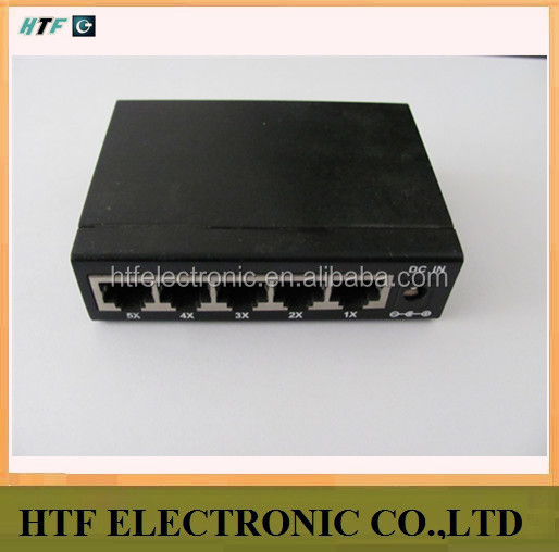 mini design OEM 5p 10/100/1000M IEEE 802.3x flow control Realtek Chipset unmanaged industrial camera iptv ethernet metal Switch