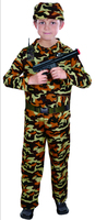 new dress children stage army costumes Halloween costume special forces handsome soldier dress camouflage clothing