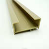 Plastic Extruded Yellow Square Curtain Rails PVC Plastic Strips