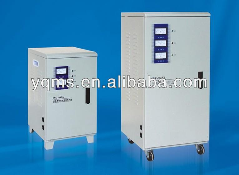 china wenzhou low price servo motor voltage stabilizer 30KVA 3 phase voltage regulator