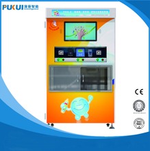 Popular Coin Operated Liquid Detergent Vending Machine