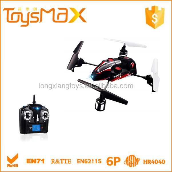 Remote control 2.4G flip 4 axis aircraft quadcopter, magic ufo toy