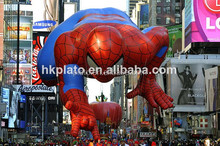 2014 advertising helium giant inflatable spiderman