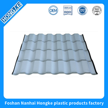 Fast delivery spanish synthetic resin roof tile