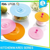Heat retaining cheap sealing design high qaulity silicone suction lid