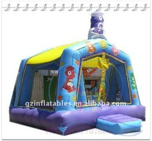 Qi Ling 2012 popular inflatable castle bouncer rental