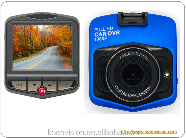 High Quality FHD 1080P DVR Wide Angle 160 Degree Car Dash Camera
