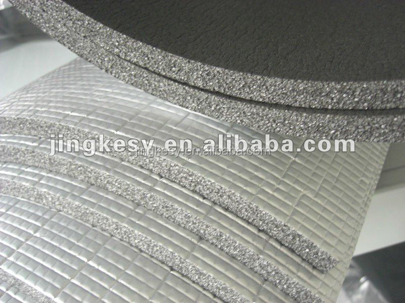 high quality roof insulation products sandwich panel with aluminium foil out layered & middle part with no heat conduct.