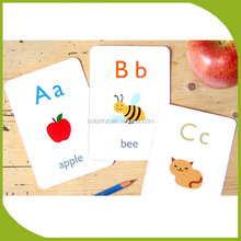 English learning flash cards printing services