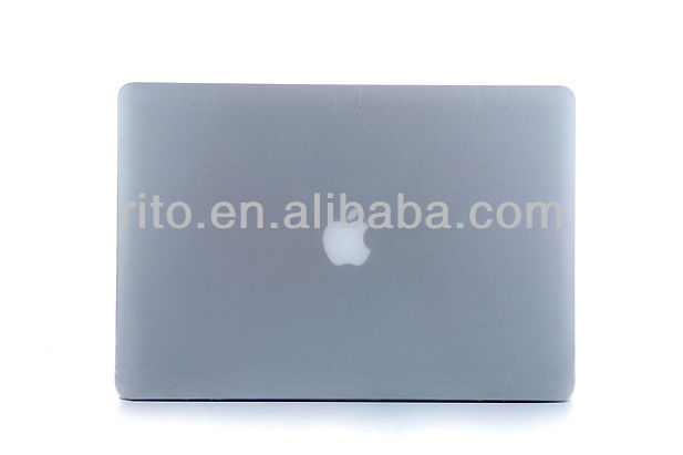 Rubberized/Crystal Hard Case Cover for Macbook Pro 13 Inch A1278,Customers logo