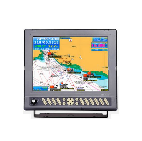 Marine GPS Navigator 12inch LCD with detail sea chart map