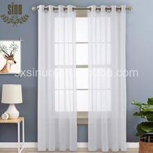 Factory Direct Luxury Ready Made 100% polyester sheer curtain