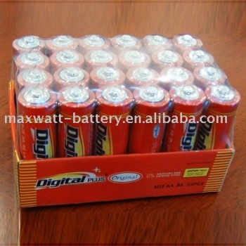 R6 SIZE AA UM-3 DRY BATTERY 2DOZ/SHRINK TRAY