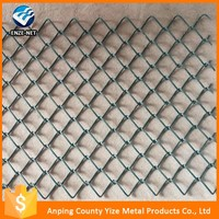 Alibaba china Supplier sturdy and durable strong toughness Powder/Vinyl Coated Black Chain Link Fence Wholesale price