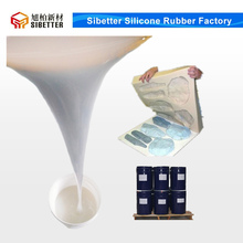 Condensation Cure Liquid Molds Rubber Silicon for Gypsum Cornices Molding