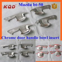 car door handle bowl insert cover for mazda bt50 4x4 mazda bt 50 pick up chrome door handle bowl cover mazda bt50 accessories