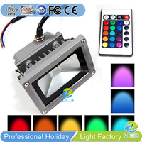 Remote Control colorful led flood light rgb