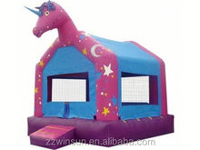 Commercial Inflatabl Unicorn bouncing castle,bouncy castle,jumping castle