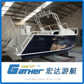 2017 Fashion Alibaba Suppliers Excellent Material Aluminum Pilot Boat