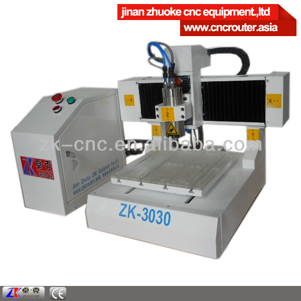 router machine mini pcb desktop cnc router ZK-3030