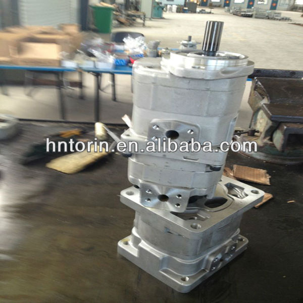 705-51-20480,705-52-30220,705-55-34190 Hydraulic Pump, Hydraulic Gear Pump For Wheel Loader WA320-3
