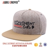 High quality new fashion 5 panel custom snapback hats wholesale