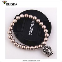 Caroline Fashion New Design Beads Buddha Charm Bracelet