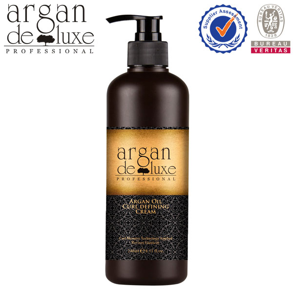 Moisturizing And Nourishing Argan Oil Bouncy Curl Hair Cream