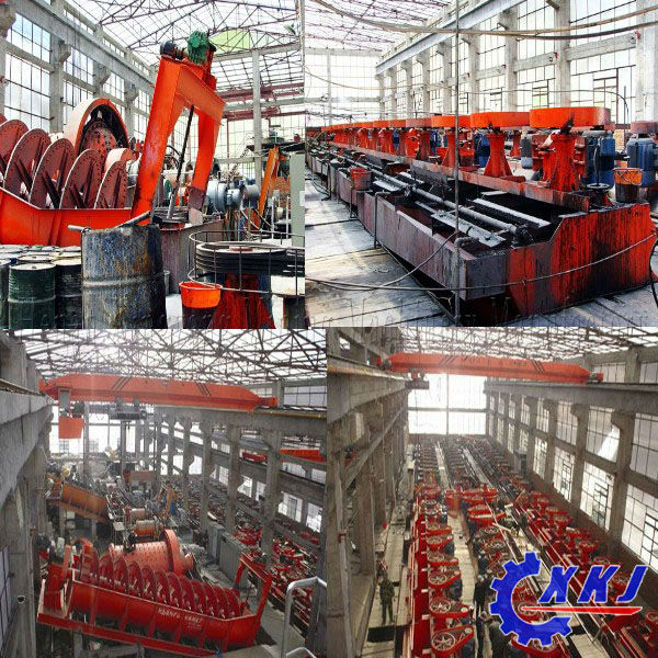 Copper ore processing equipment flotation machine with good reputation and best price