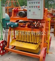 QMY4-45 concrete hollow block machine using electric mould vibration in Tanzania