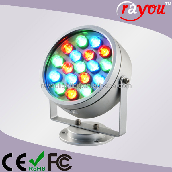 rgb color changing led christmas light outdoor solar projector light