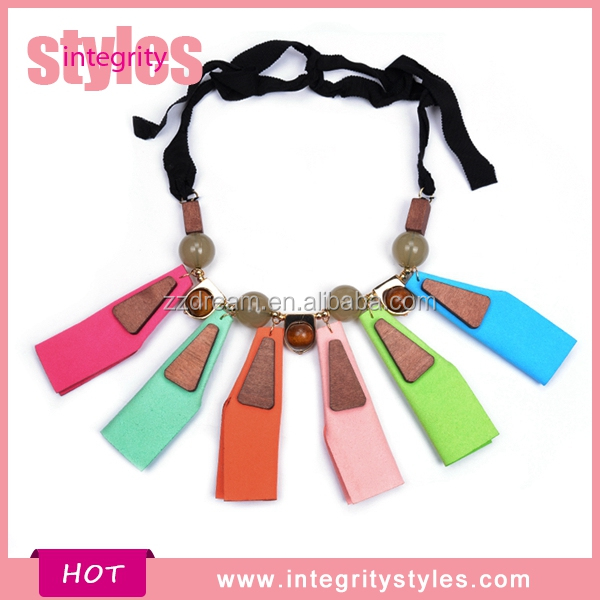 Trendy Aroma Special Delicate Bead Colorful Necklace