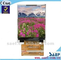"1.77"" inch TFT with Resistive Touch screen QQVGA128*(RGB)*160 mobile phone LCD display"